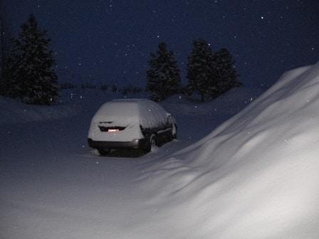 auto sniegs