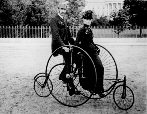 Bicycle two 1886