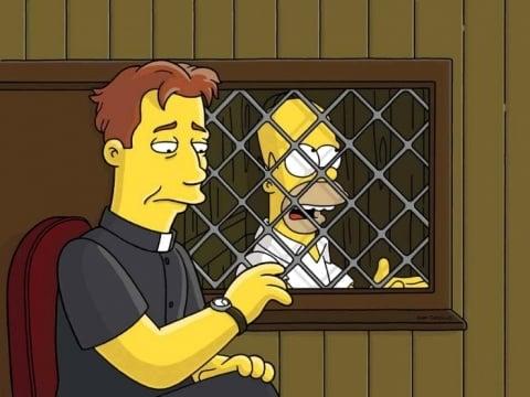 LiamNeeson Simpsons