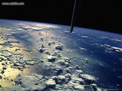planeta zeme no kosomosa