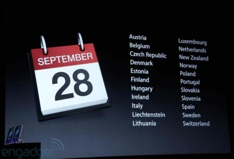 iphone5 countries