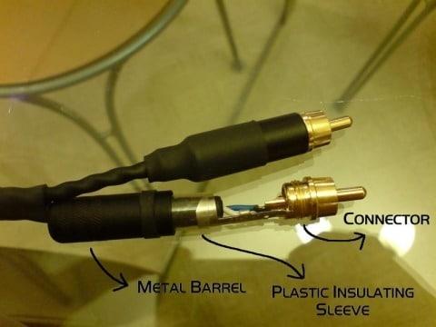 kabelis ar konektoru