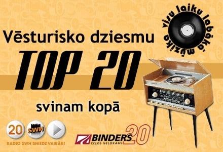 radio swh vesturisko dziesmu top20 1
