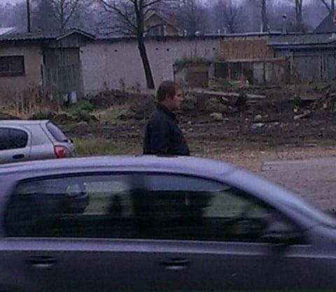 policija ludz atsaukties attela redzamo personu