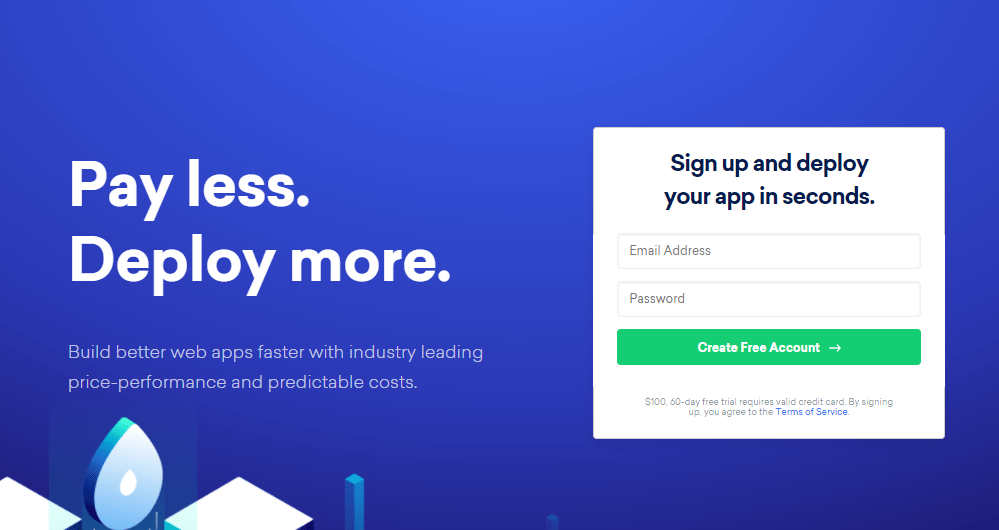 DigitalOcean 100 usd free credit