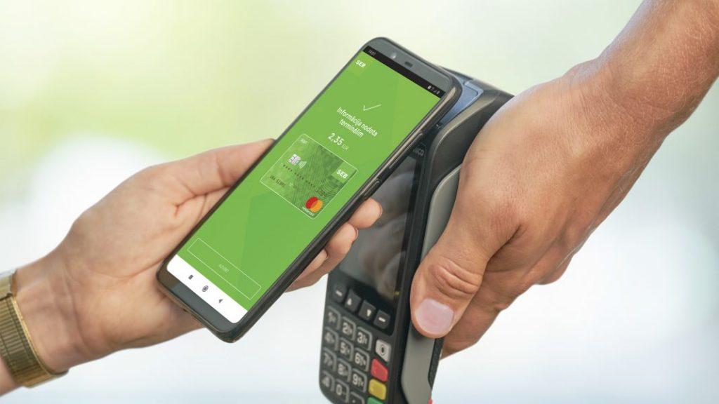bezkontakta maksājums