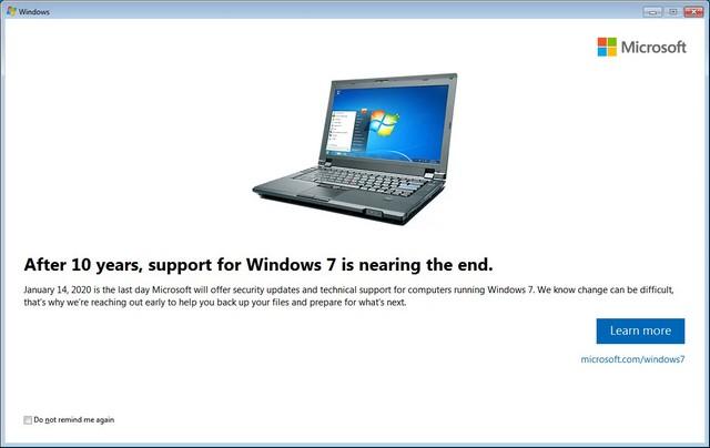 windws7 support beigas