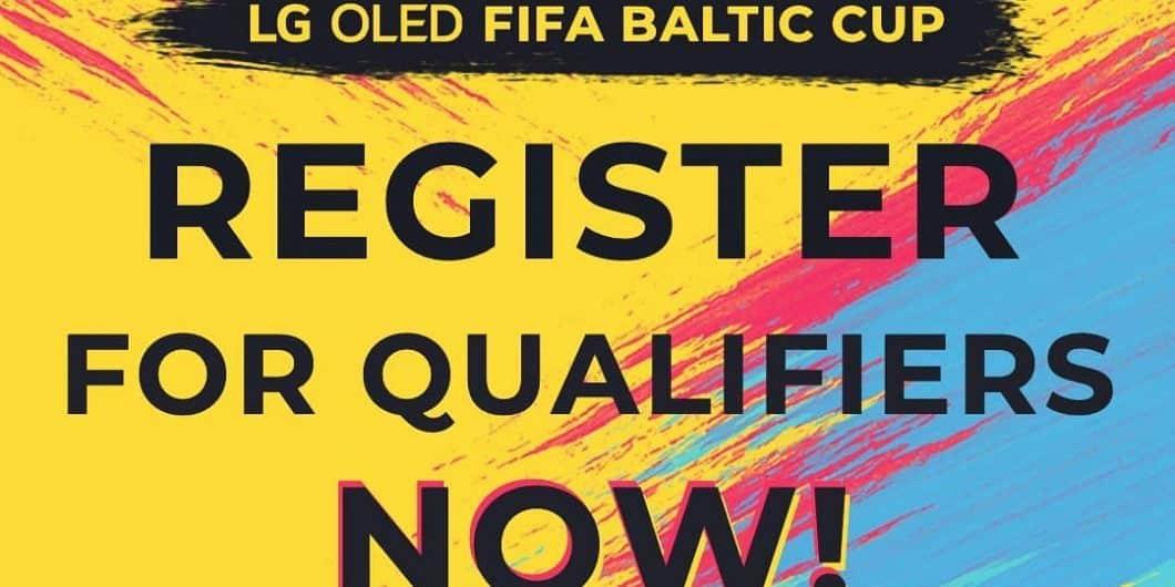 LG OLED FIFA Baltic Cup