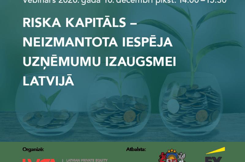 riska kapitals neizmantota iespeja uznemumu izaugsmei latvija