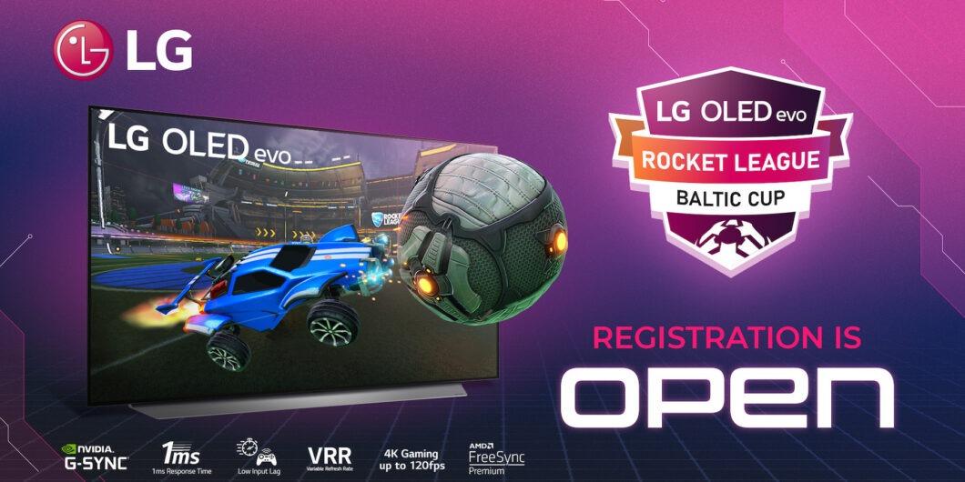 LG OLED evo RockedLeague Baltic Cup